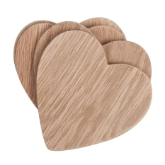 Laid Back Company Heart Coasters, Set of 4