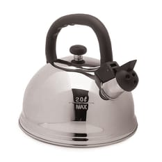 KitchenCraft 18/10 Stainless Steel 2 Litre Stovetop Whistling Kettle