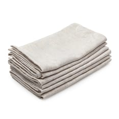 DSA Table Linen Specialists Earth Collection Damask Napkins, Set of 6