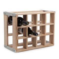 Laid Back Company Oak Box Wine Rack