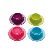 Kitchen Craft Colourworks Silicone Egg Cups, Set of 4