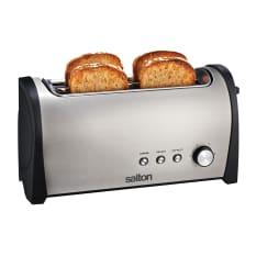 Salton Stainless Steel 4 Slice Toaster