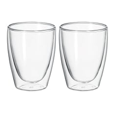 Avanti Caffe Double Walled Glasses, Set of 2
