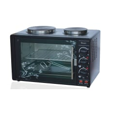 Swan 30 Litre Mini Oven with 2 Solid Hotplates