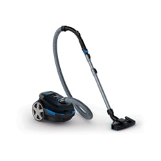 Philips Performer Compact 2000W Bagged Cylinder Vacuum Cleaner