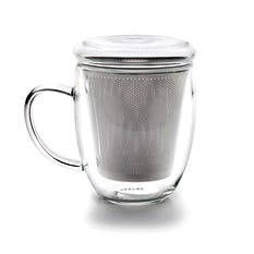 Ibili Acessorios Glass Tea Cup With Filter