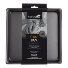 MasterClass Non-Stick Deep Loose Base Square Cake Pan