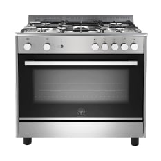 La Germania Parma Stainless Steel Gas Hob & Electric Oven, 90cm