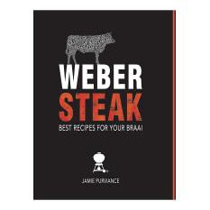 Weber Steak Recipe Book by Jamie Purviance