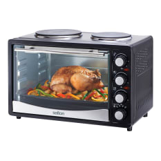 Salton 30 Litre Mini Oven with 2 Solid Hotplates