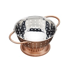 Kitchen Craft Artesa Copper Finish Mini Colander