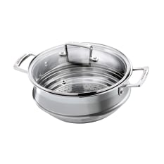 Le Creuset Professional 3 Ply Stainless Steel Multi-Steamer