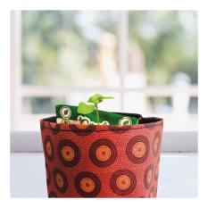 Reel Gardening Shweshwe Vegetable Planting Pot