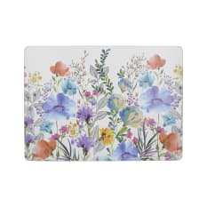 Creative Tops Meadow Floral Rectangular Cork Placemats