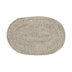 Creative Tops Naturals Bulrush Woven Oval Placemat