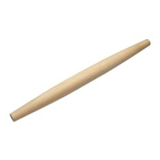 Kitchen Craft Italian Collection Wooden Rolling Pin, 50cm