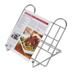 kitchen craft adjustable folding recipe book holder