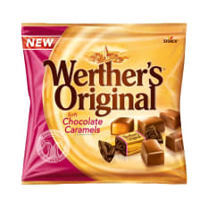 Storck Werthers Original Chocolate Caramels, 100g