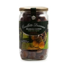 Cueillette Descours Cooked Chestnuts, 420g