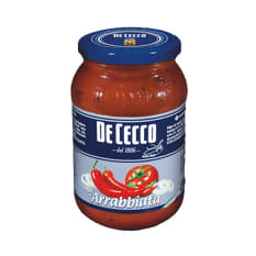De Cecco Arrabbiata Tomato, Chilli and Onion Pasta Sauce, 400g