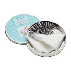 Sweetly Does It Icing Nozzle Kit in a Tin, Set of 16