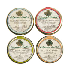 Edmond Fallot Assorted Mini Mustards, Set of 4