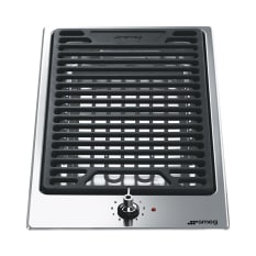 Smeg Built-In Domino Low Profile Griddle Hob, 30cm