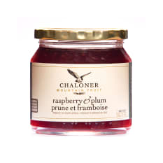 Chaloner Raspberry and Plum Jam, 300g