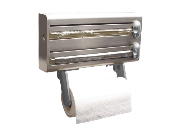 Kitchen Craft Stainless Steel Cling Film Foil and Kitchen Towel ...