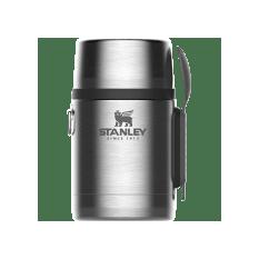 Stanley Adventure Stainless Steel Vacuum Food Jar With Spork, 530ml