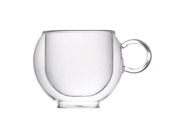 81591858b1c NOVA Fanel Double Walled Glass CappuccinoTea Cups Set of 2 - Yuppiechef