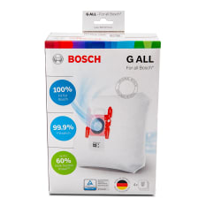 Bosch BBZ41FGALL PowerProtect Dust Bag, Pack of 4
