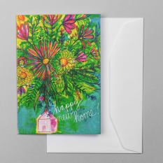 Sweet William Happy New Home! Greeting Card