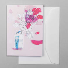 Sweet William King Protea Greeting Card