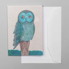 Sweet William Owl Greeting Card