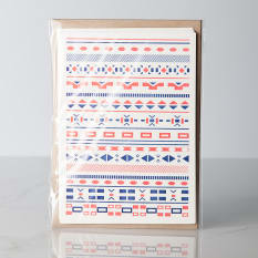 Essie Letterpress Africana Note Cards, Pack of 5