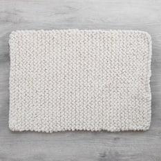 Amelia Jackson Chunky Knit Bath Mat