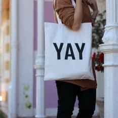 Zana YAY Tote Bag