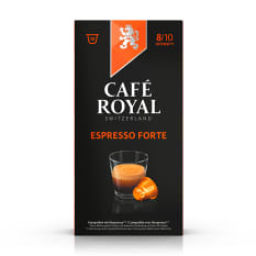 Cafe Royal Espresso Forte Coffee Capsules, Pack of 10