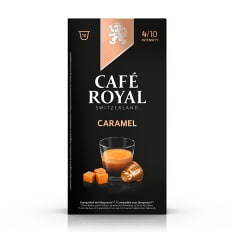 Cafe Royal Caramel Flavoured Edition Coffee Capsules, Pack of 10
