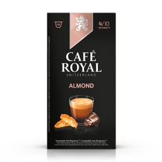 Cafe Royal Almond Flavoured Edition Coffee Capsules, Pack of 10