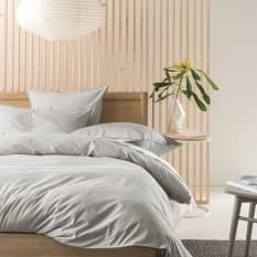 Linen House Grey Alexandra Duvet Cover Set