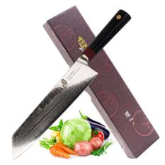 Tuo Knives Ring-D Kiritsuke Cleaver, 21cm