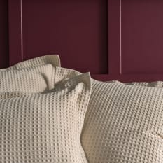 Linen House Deluxe Waffle Duvet Cover, Nude
