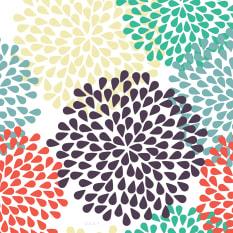 Rakt Patterns Collection Paper Placemats, Set of 24