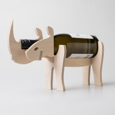 Native Decor Rhino Wine Holder