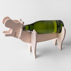 Native Decor Hippo Wine Holder