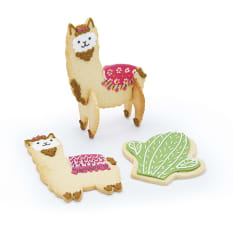 Sweetly Does It 3D Standing Llama Cookie Cutters