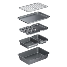 MasterClass Smart Space Stacking Non-Stick Bakeware Set