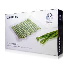 Taurus VacPack Vacuum Sealer Plastic Bags, Pack of 50
